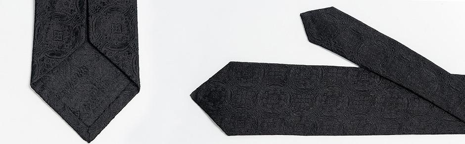 πανάλαφρη αφοδράριστη γραβάτα μετάξι από το Κόμο ζακάρ