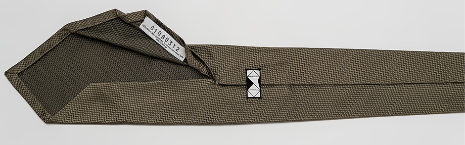 Panalafri extremely light necktie limited edition handmade artisan necktie code numbered exclusivity