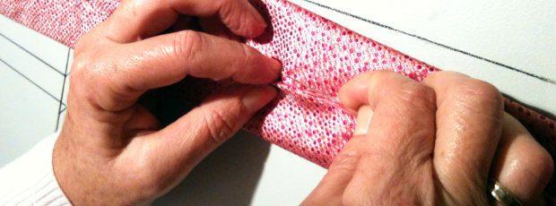 making tie seven fold necktie coral pink ties 8 fold ties handmade slip stitch limited edition neckties wedding slip stirch