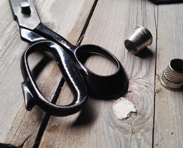 making a seven fold necktie