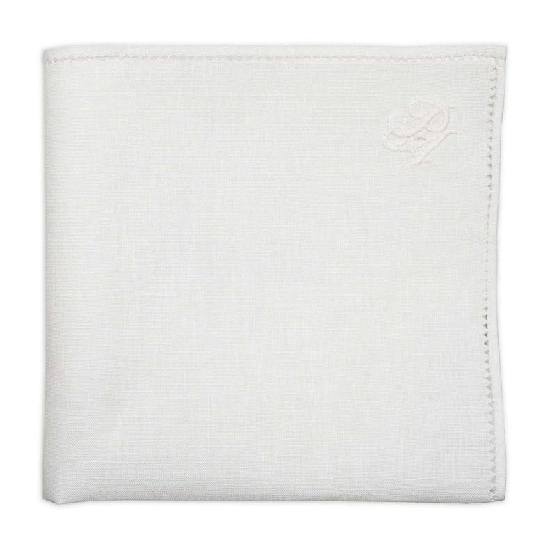 Personalized Linen Pocket Square