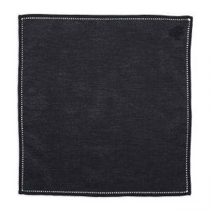 black-cotton-pocket-square