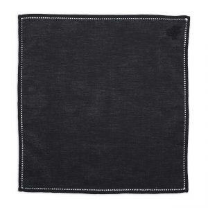 black-cotton-pocket-square