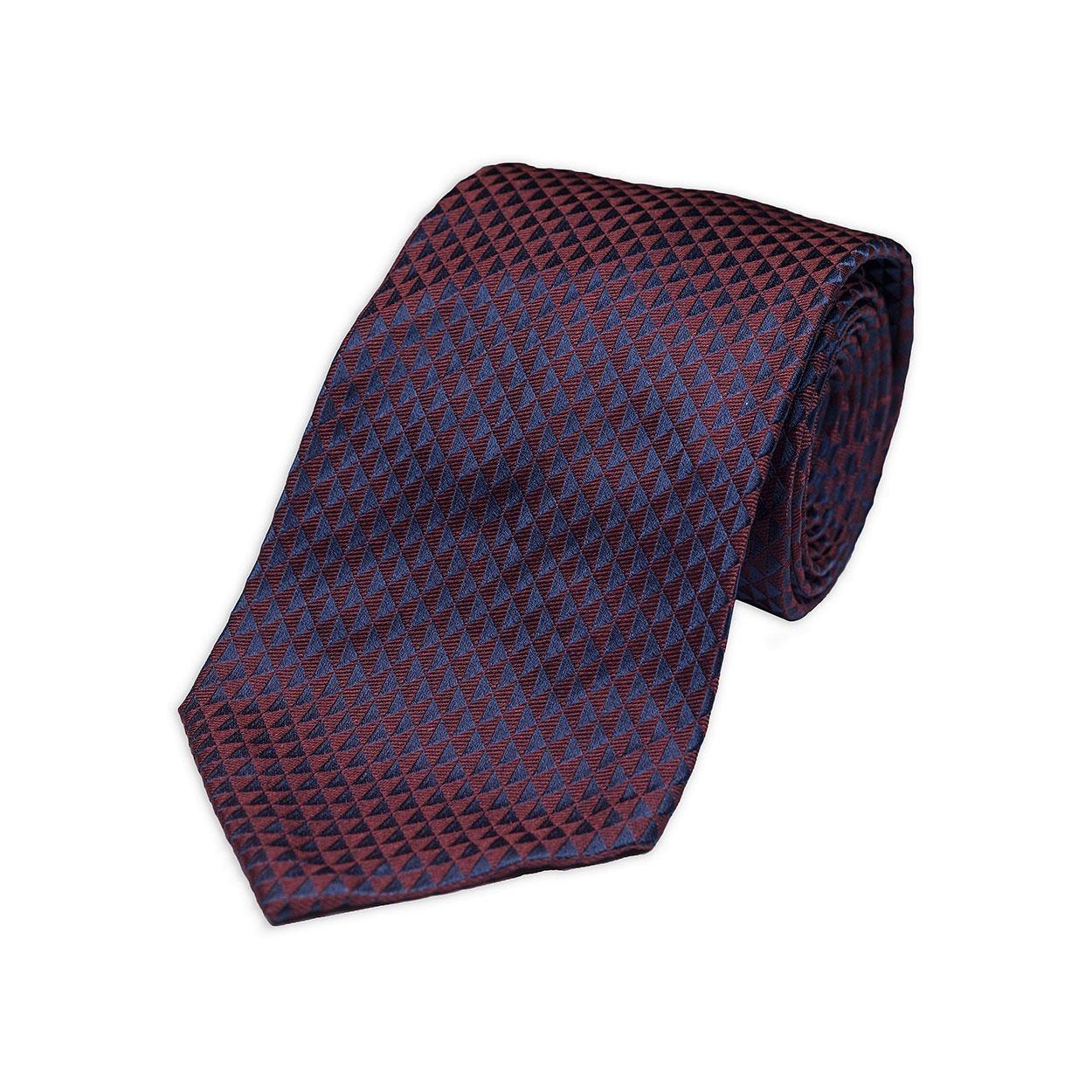 red-silk-tie