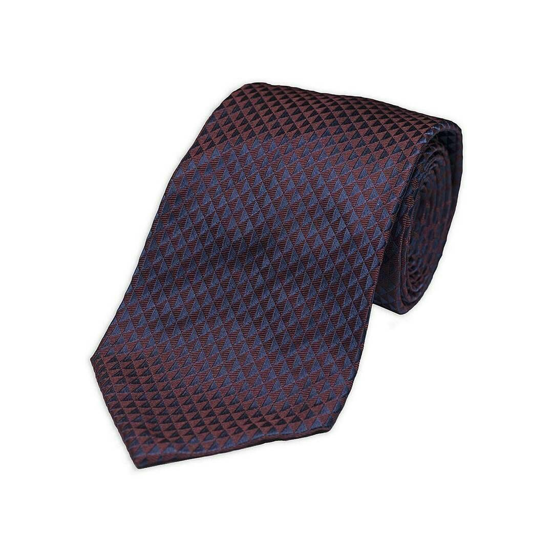 μπορντό γραβάτα ρουβά