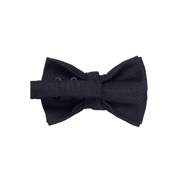 Black Jacquar Bow Tie