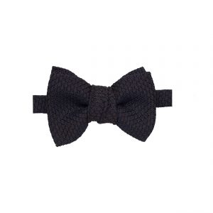 brown garza bow tie