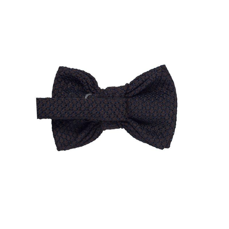Brown Grenadine Bow Tie