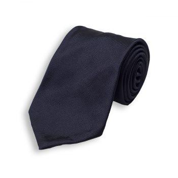 Μεταξωτή Μπλε Γραβάτα