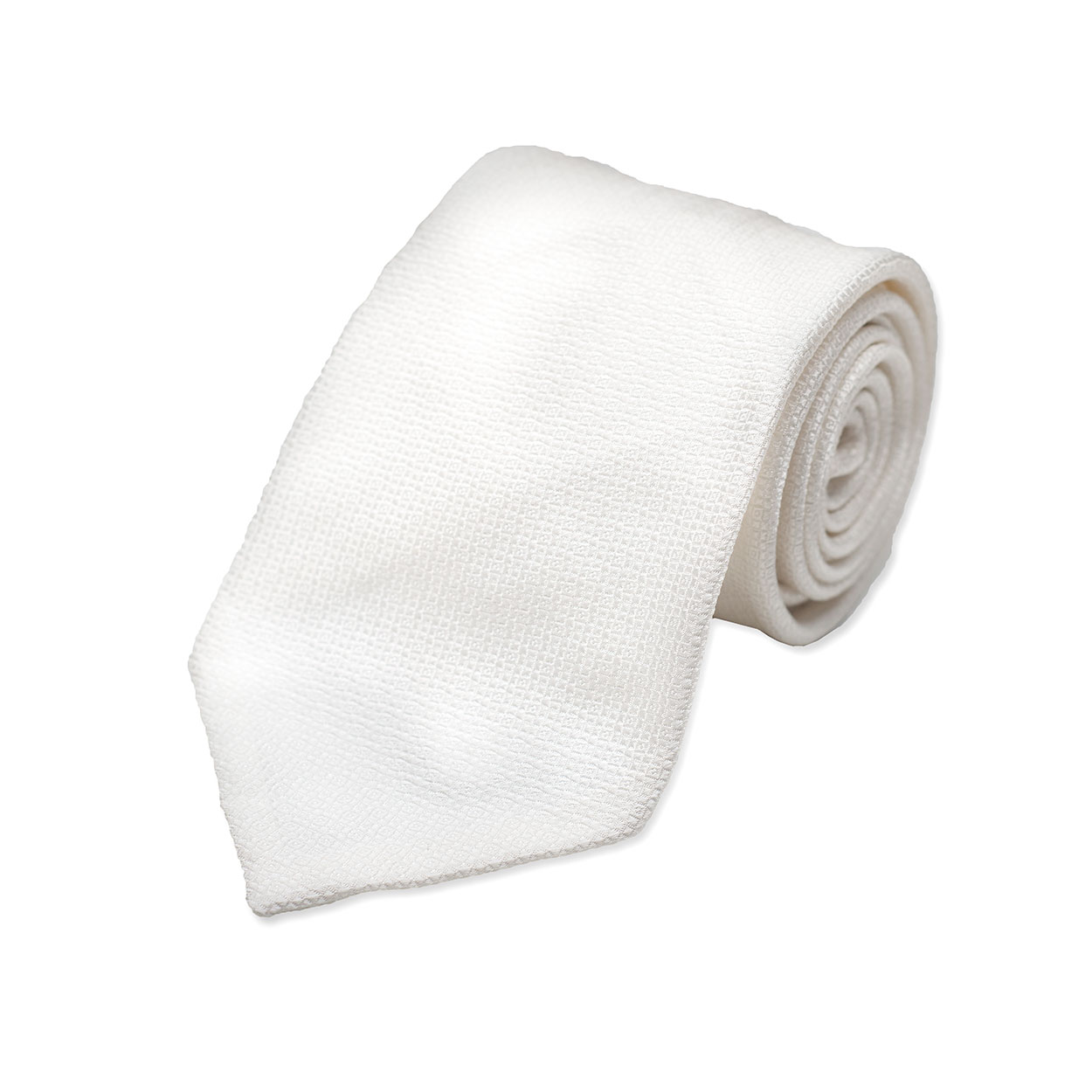 Λευκή Μεταξωτή Γραβάτα