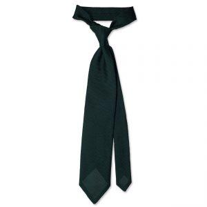 Green Garza Fina Grenadine Silk Tie ολόκληρη