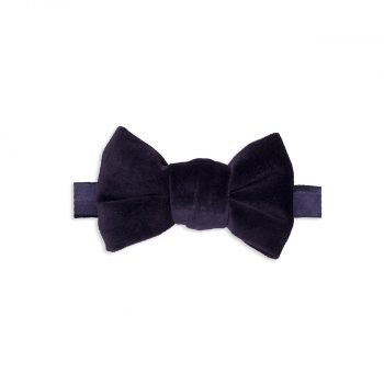 Purple Velvet Bow Tie