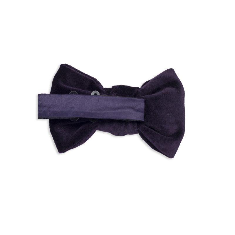Purple Velvet Bow Tie