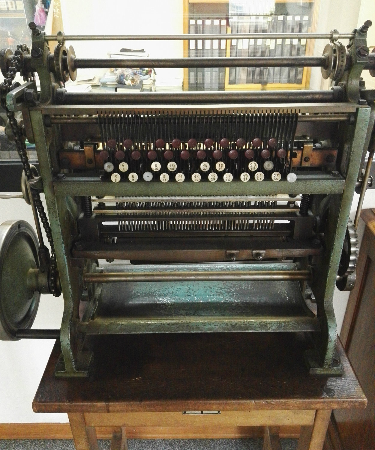 grenadine weaving machine