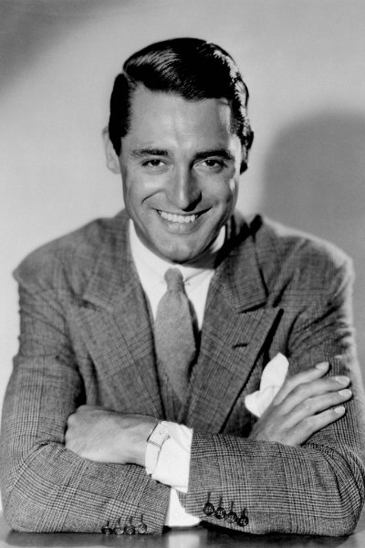 Cary Grant wearing Prince of Wales check