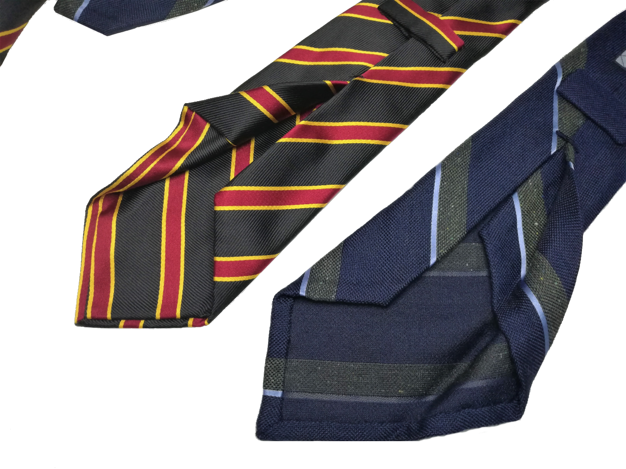 Untipped Ties